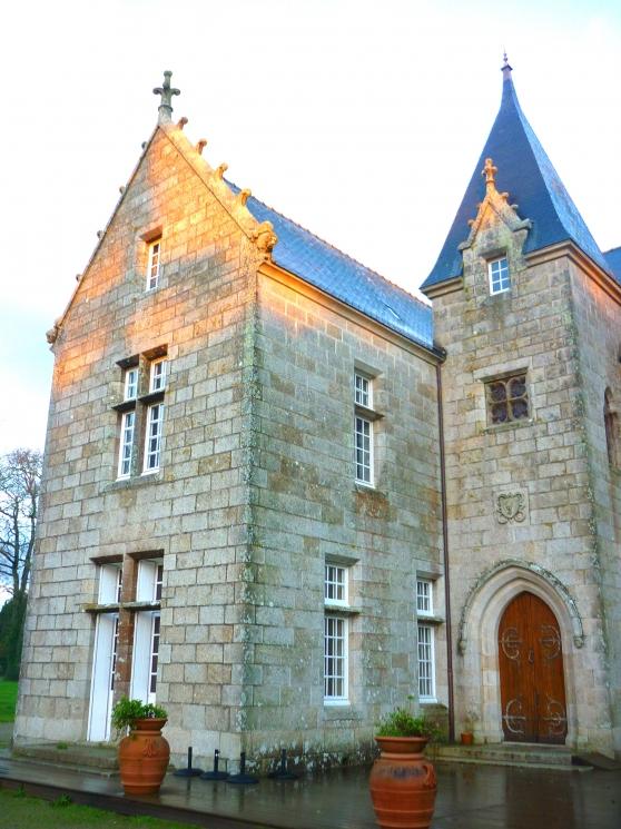 Rénovation toiture plomb Château de kerlut (1)