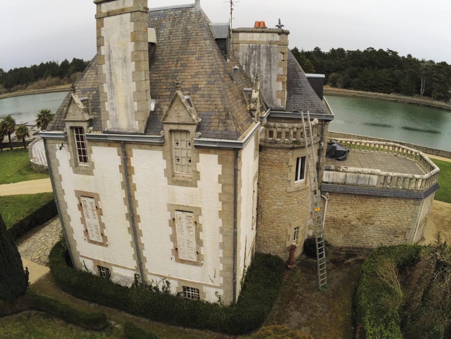 Rénvation-toiture-manoir-de-Kerenez-Loctudy-1